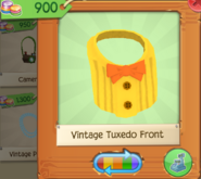 Vintage Tuxedo Front Yellow (5)