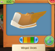 Winged Shoes 2