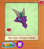 Pet epic dragon mask2
