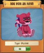 Tiger Plushie