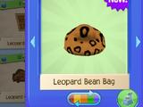 Leopard Bean Bag