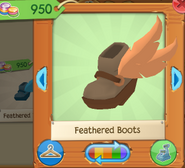 Feathered boots 3