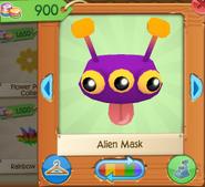 Alien mask 1