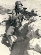 Spanish Soldier Guerra Ifni Modelo 58 (CETME Model B)
