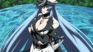 Esdeath and Tatsumi defeat Danger Beast
