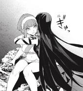 Akame hug Hinata