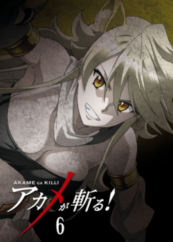 Akame ga Kill Vol. 6 Blu-ray (Japan).png