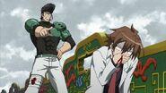 Bulat scolds Tatsumi