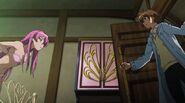 Tatsumi entering Mine's room
