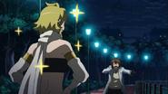 Tatsumi's reaction to Leone -marking- him