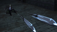 Cross Tail's Knives