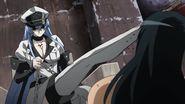 Esdeath kills Numa Seika - Ep 5
