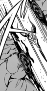 Tatsumi cuts off Cosmina's arm