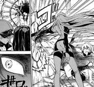 Esdeath atacando a Suzuka