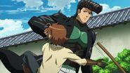 Bulat punches Tatsumi