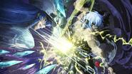 Susanoo clashes with Esdeath