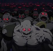 Menschenähnliche Monster