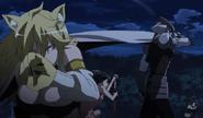 AnimeScene(Leone and Tatsumi)
