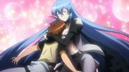 Esdeath and Tatsumi get to know each other
