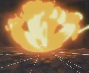 Elemento Fuego: Jutsu Dragón de Fuego