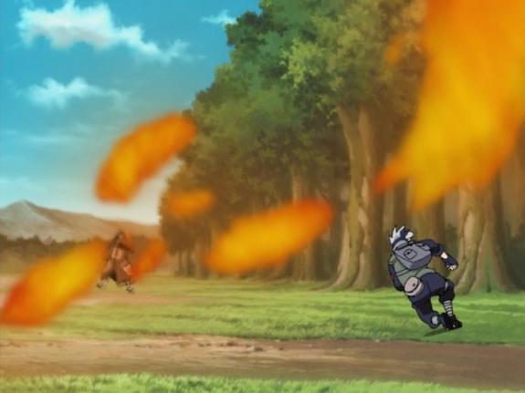 Elemento Fuego: Jutsu Llamas del Fénix
