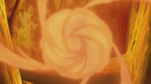 Elemento Fuego: Torbellino de Llamas