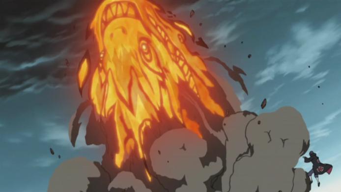 Elemento Fuego: Gran Dragón de Fuego