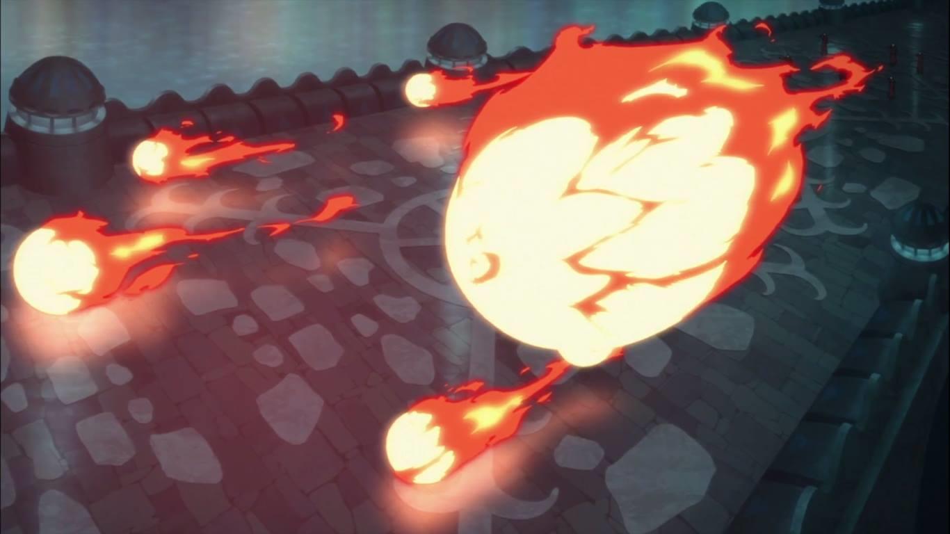Elemento Fuego: Esferas de Llamas