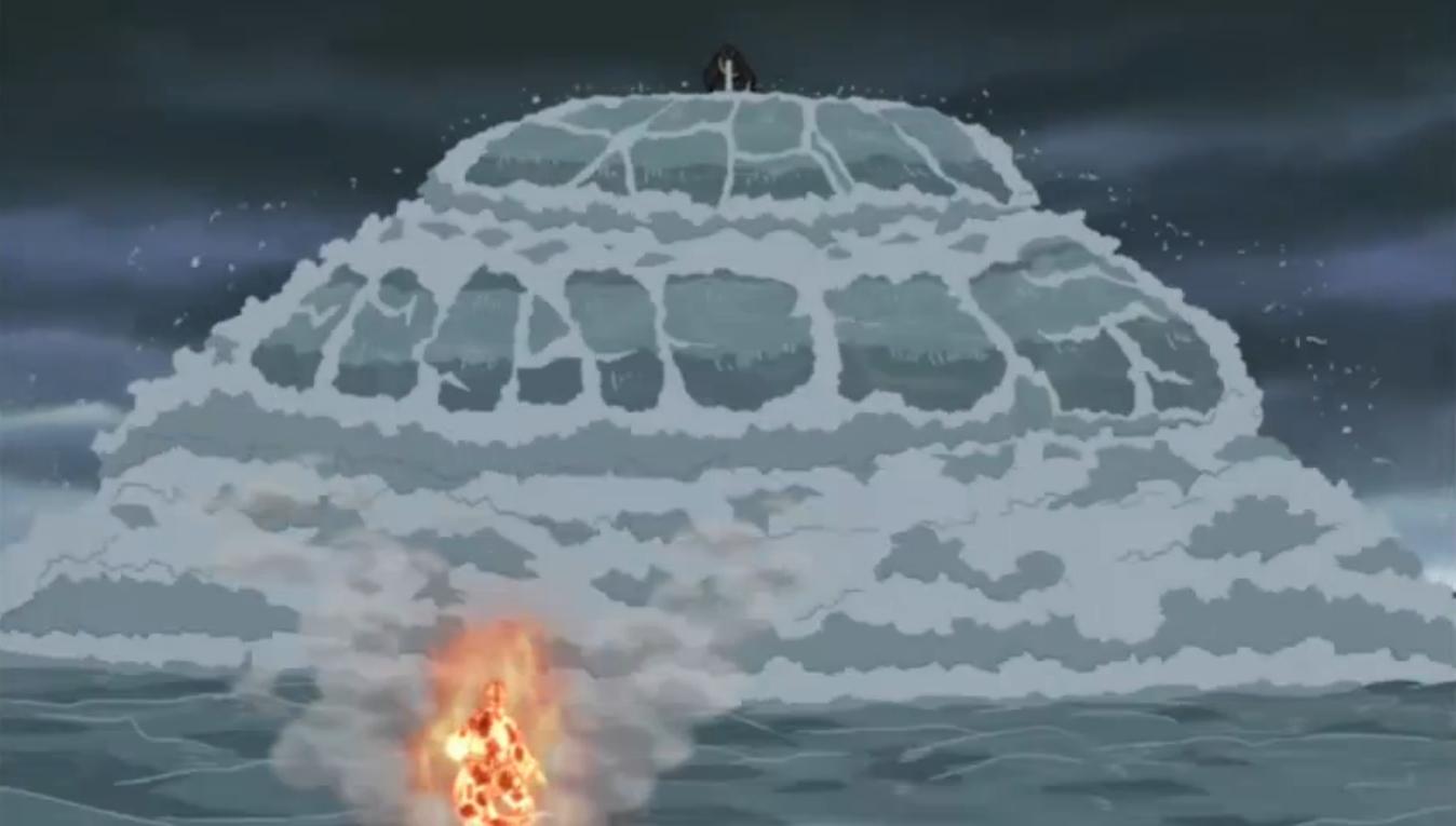 Elemento Agua: Explosión de Agua Colisión de Olas