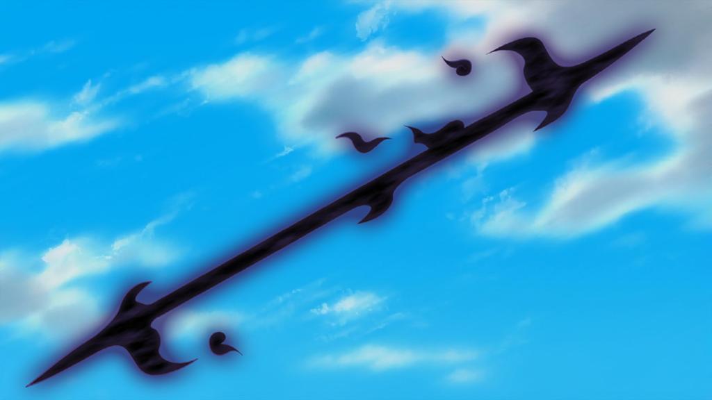 Arte Sabio: Gran Lanza Oscura Kagami