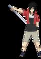Reiken con su espada