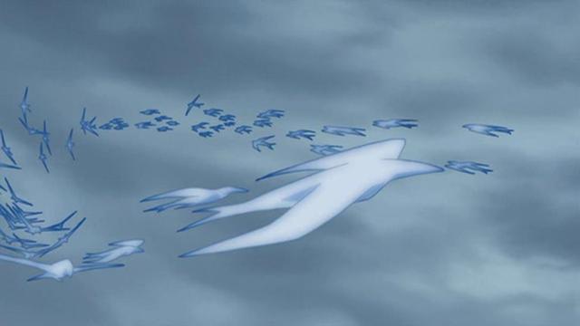 Elemento Hielo: Tormenta de Golondrinas de Nieve