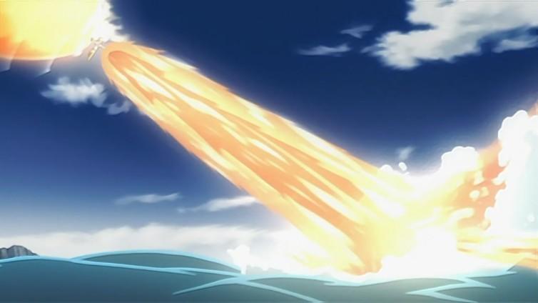 Elemento Fuego: Descarga Explosiva