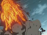 Elemento Fuego: Jutsu Gran Dragón de Fuego