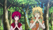 Yona y Zeno se conocen