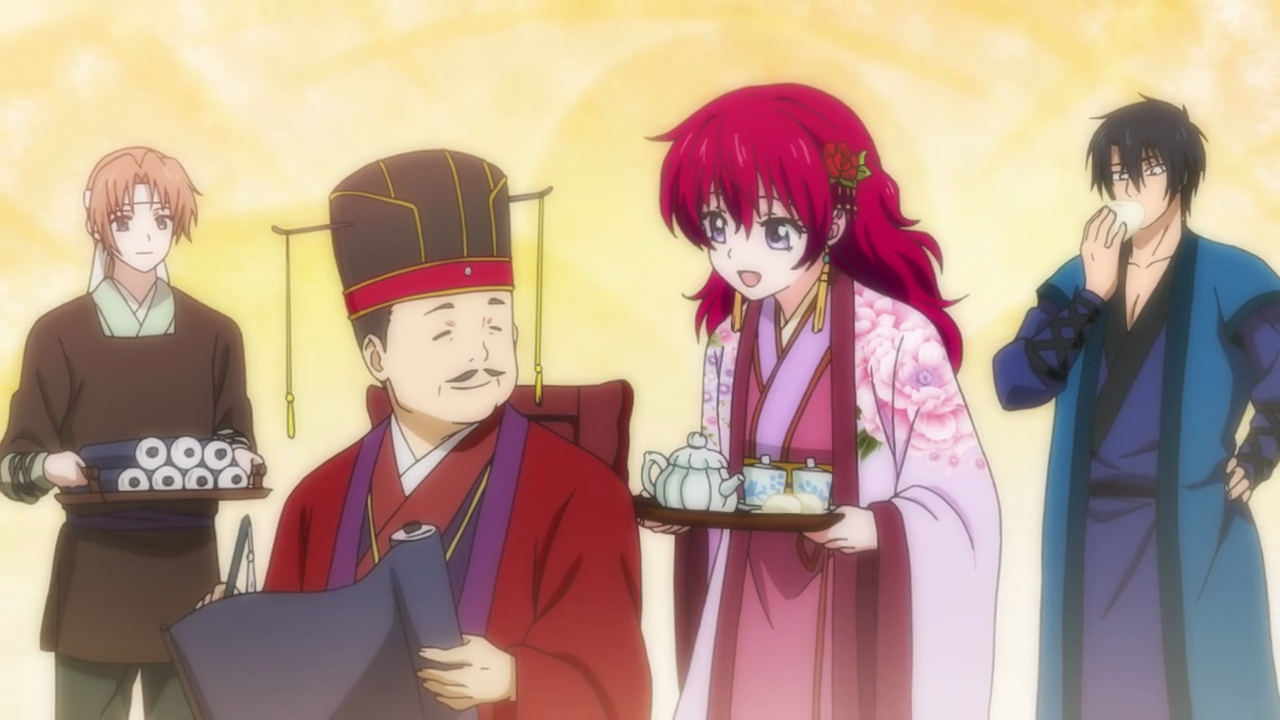 Min-Soo watches the royal family together with Hak.png
