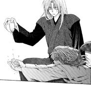 Zeno agarra la sopa de jengibre