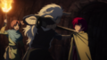 Seiryuu hesitates to kill Yona
