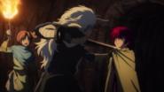 Seiryuu hesitates to kill Yona