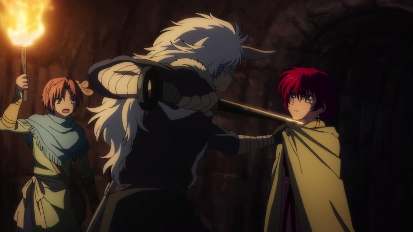 Seiryuu hesitates to kill Yona.png