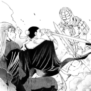 Heuk-Chi bloquea a un soldado