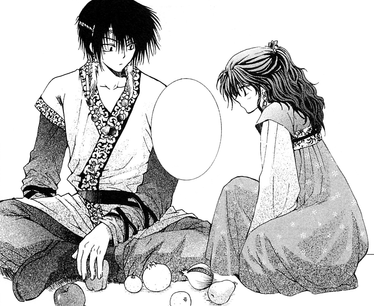 Yona reconciles with Hak.png