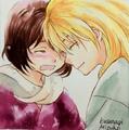 Zeno and Kaya Sketch