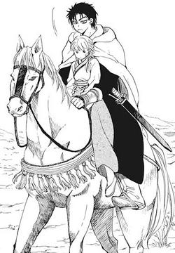 Yu-Hon riding Algada with Yong-Hi.png