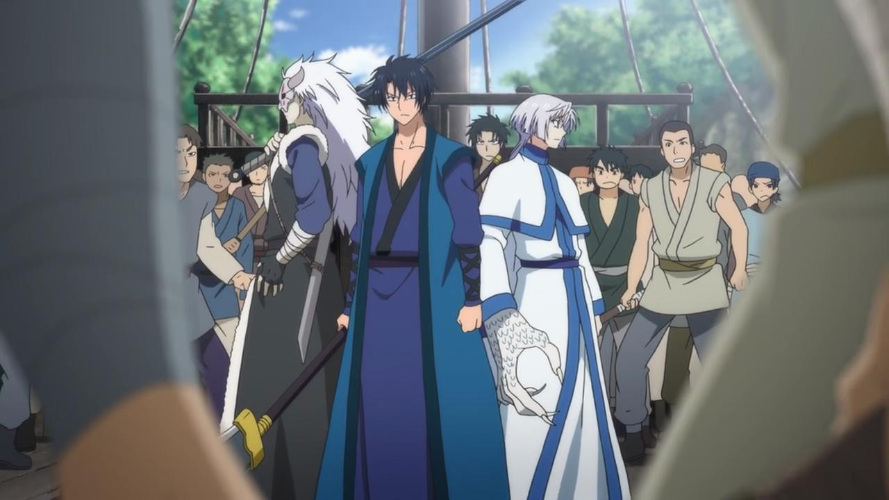 Hak, Kija and Shin-Ah vs. the Awa Pirates.png