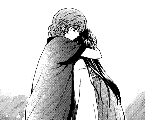 Yona comforts Lili.png