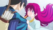 Yona demands Hak to be with her