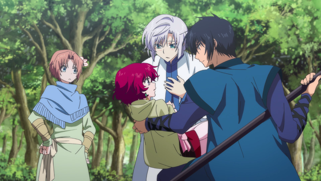 Yona is saved by Hak and Kija.png