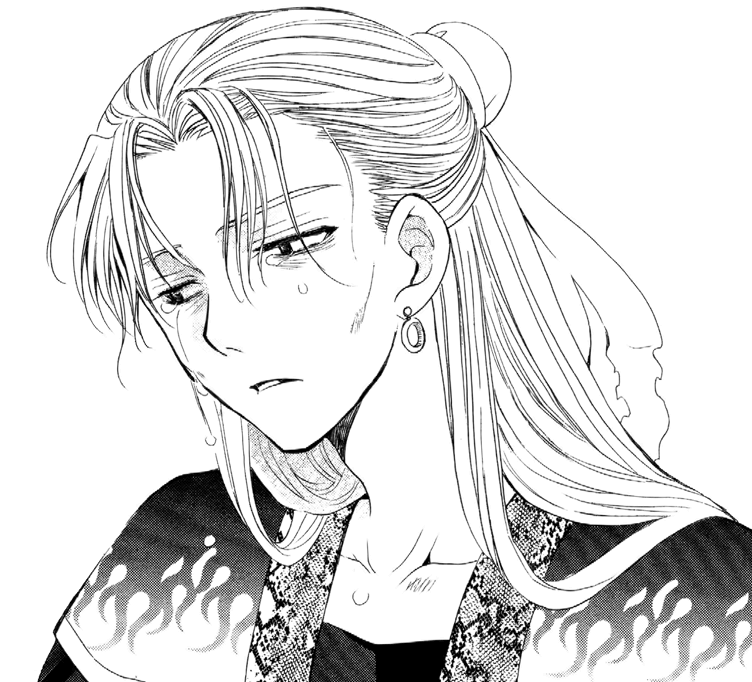 Kan Tae-Jun cries over Yona's death.png