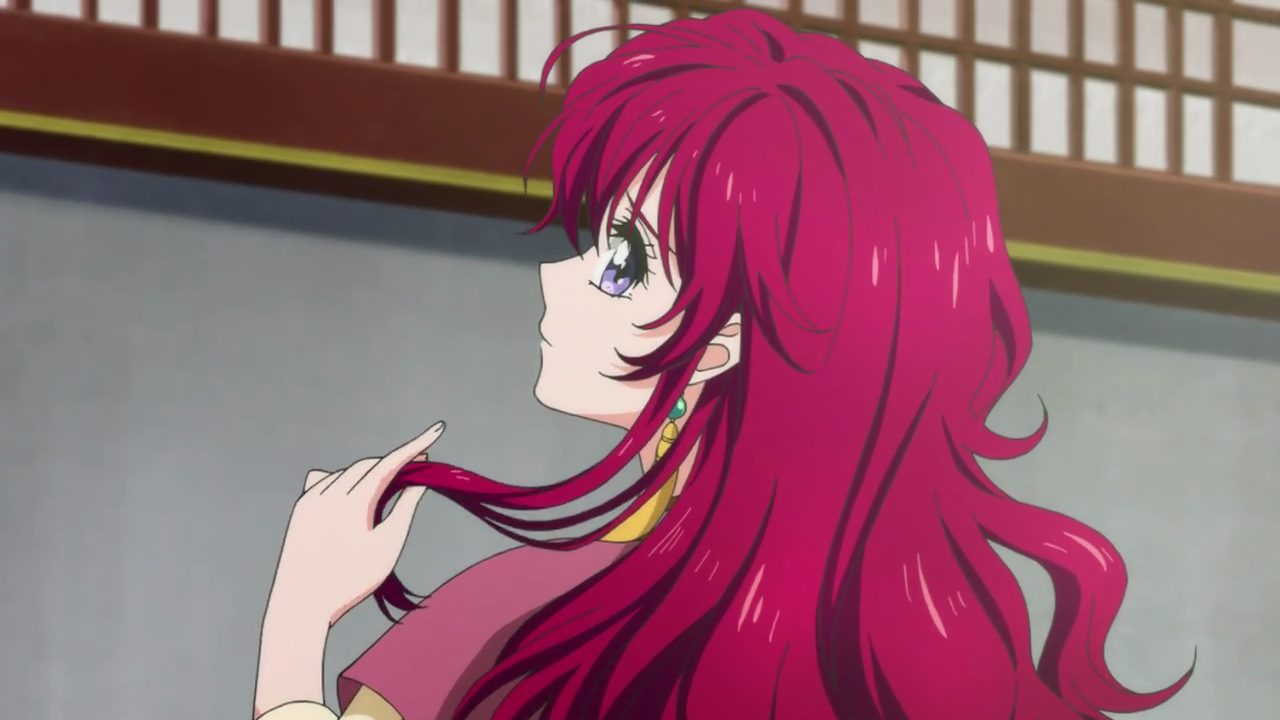 Yona complains about her unruly red hair.png